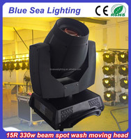 Wholesale orsam wash spot sharpy moving head 330w 15r beam light