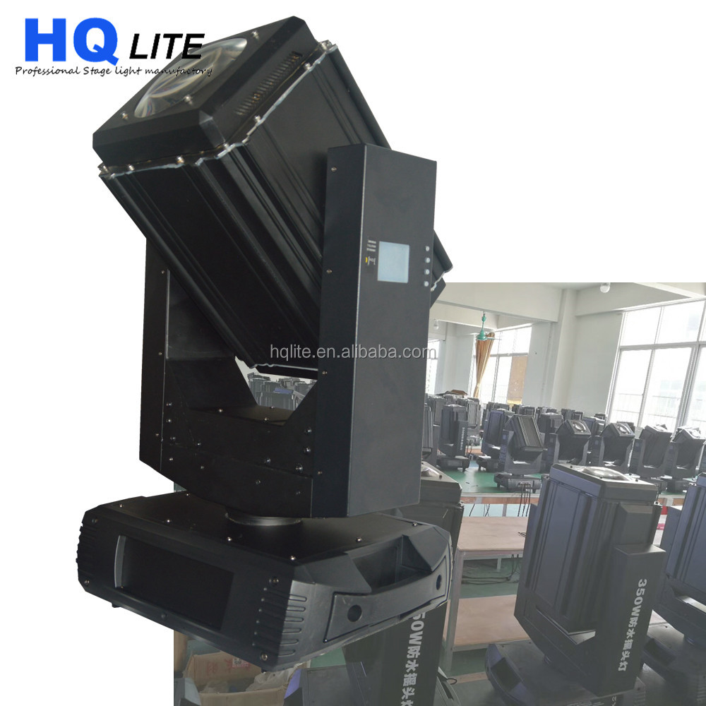 waterproof IP67 Factory Super bright stage light 17r 350w 20r 440w beam spot wash 3 in 1 moving head light