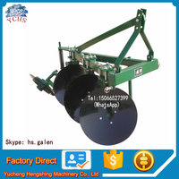 Agricultural small tractor plow 3 point disc plough for sale