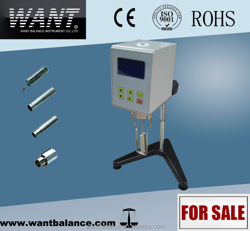 laboratory digital viscosity tester, viscosity testing machine