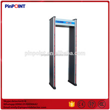 Pinpoint factory security body scanner door PD2000 walkthrough metal detector
