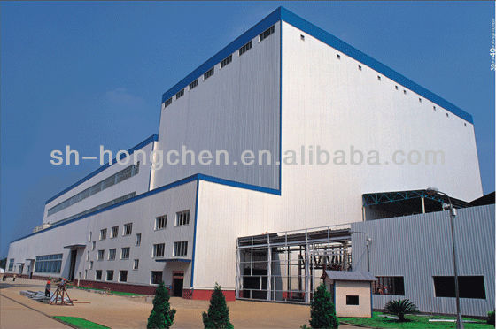 movable prefabricated steel structure warehouse