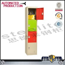 Wall mounted ventilated swimming pool changing room steel locker