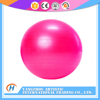 PU & Natural Rubber eco-friendly Pvc yoga ball for sale