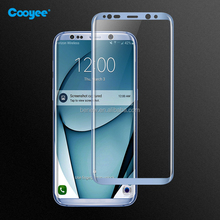 Cooyee curved tempered glass screen guard,3D full cover tempered glass for S8+