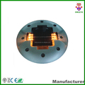Saudi Arabia hot sale embedded solar aluminum solar road stud with inner parts replaceable easily