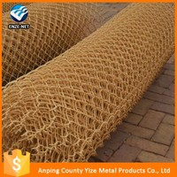 High qualitySport field balck powder coated chain link fence /ISO9001 chain link fence plastic coated mesh fence roll ( factory)