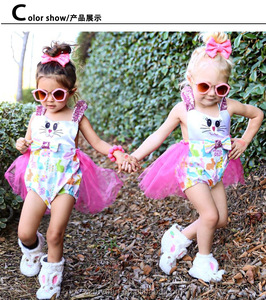 summer baby girl princess dress with good quality