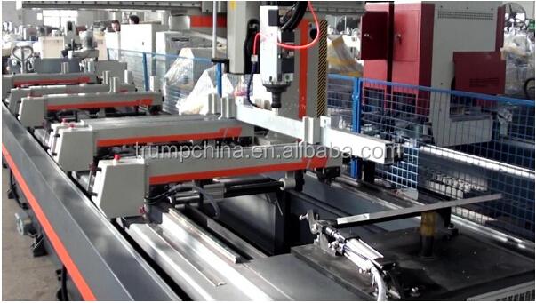 4 axis cnc launder taping milling and holes making machine