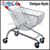 Nice Quality Sctor with chromed coating go cart trolley With handle Wheels And Baby Seats