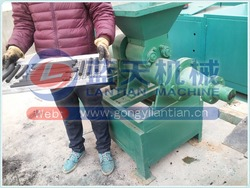 China supplier charcoal energy bar making machine charcoal/coal extruder machine