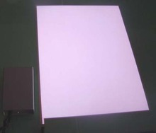 Manufacture Custom Cuttable Electroluminescent Paint/El Backlight Panel For Advertising