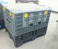 1200x1000x1000mm Folding container /container pallet/pallet jack