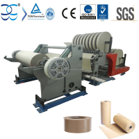 Craft Paper Jumbo Roll Slicing and Cutting Machine, Paper Rolls Slicer