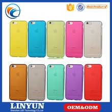 China Factory clear soft TPU back case for iphone 6 6s , for iphone 6 6s case cover