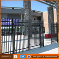Security galvanized steel road fence