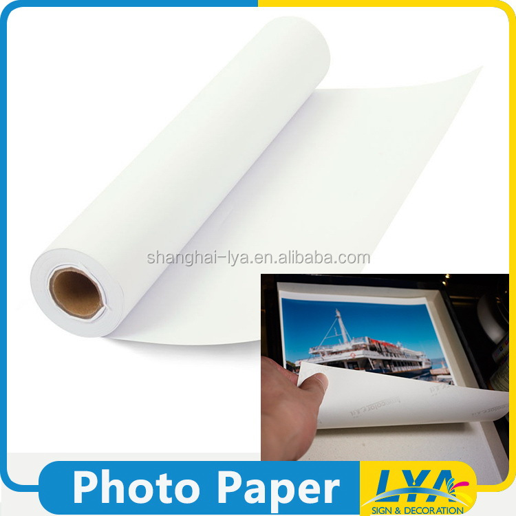 China gold supplier promotional phosphorescent photo paper