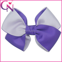 2015 New Arrival Mix Colors Sweet Good Elegant Headwear Hair Bow With Clip For Girls CNHB-13083012 -4W2