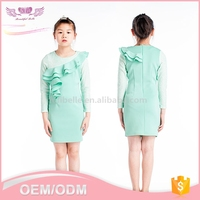 Custom new product children girl dress for fashion girls autumn dress manufacturer wholesale fancy kid dress