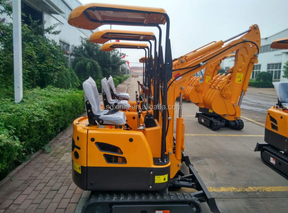 Chinese Mini Excavator for sale Hot Sale 1ton 1.5ton 1.8ton 2ton