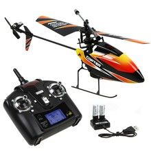 High Quality WLtoys V911 4CH 2.4Ghz Single Blade Propeller Radio Remote Control RC Helicopter w/GYRO RTF Mode 2