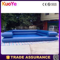 high quality double layer inflatable pool rental