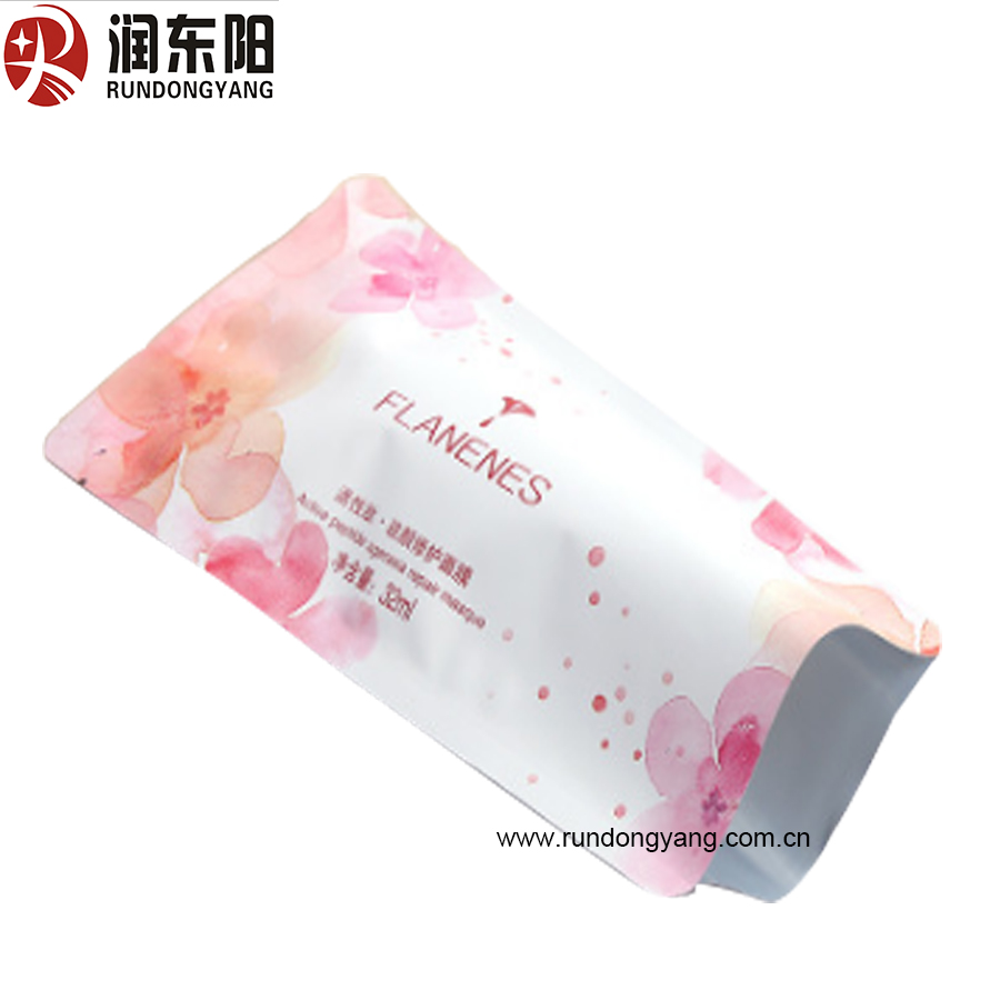 high quality Aluminum Foil Bag Packaging Facial Mask or food packing bag