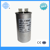 Hot sale CBB65 air conditioner metallized film capacitor 102j 100v
