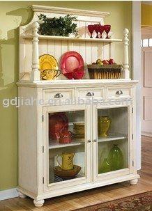 2014 new design white mdf kitchen buffet cabinets kitchen