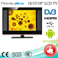 Guangzhou Factory Hot SALE! high definition 15 15.4 15.6 17 19 22 24 inch Portable LCD cheap solar TV