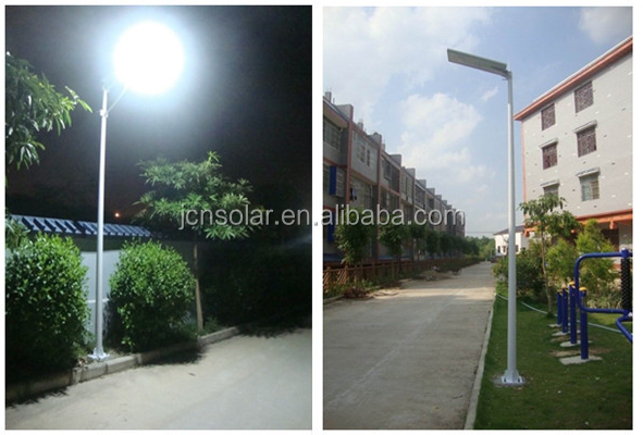 waterproof 20w solar auto-sensing led street light manufacturer in china