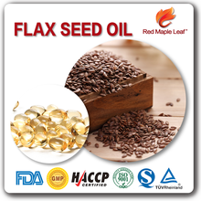 1000mg Skin Whitening Bulk Cold Press Flax Seed Oil Supplement Softgels