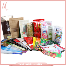 16 years factory production experience popular design OEM/ODM gravure printing packing bag.colour opp plastic bag