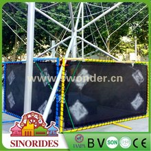 Low Cost High Profit Kids Trampoline Carnival Rides Hot Selling