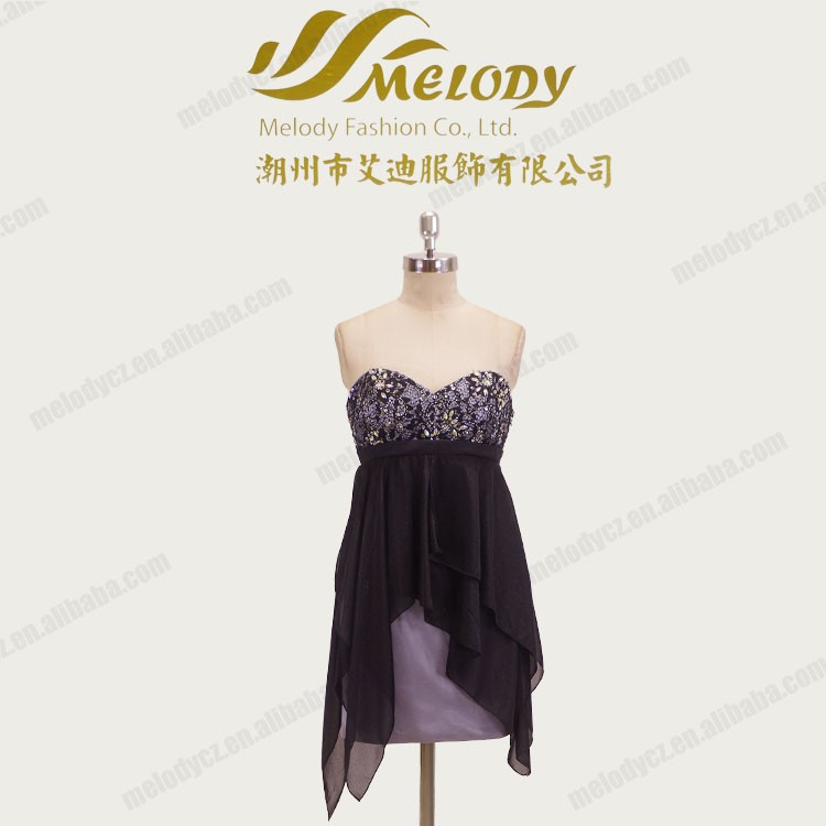 Sexy strapless above knee waistband corset maternity club dresses 2016 women