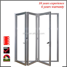 Bifold doors Bi Folding Professional Double Glazed Glass Doors China Manufacturers Price Aluminium Interior French Patio Doors