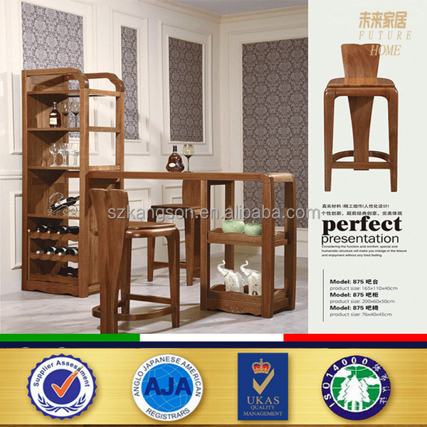 High Quality Wooden Living Room Furniture Bar Chairs - Buy Wooden