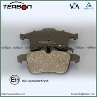 Wholesale Opel Spare Parts Brake Pad With E-mark