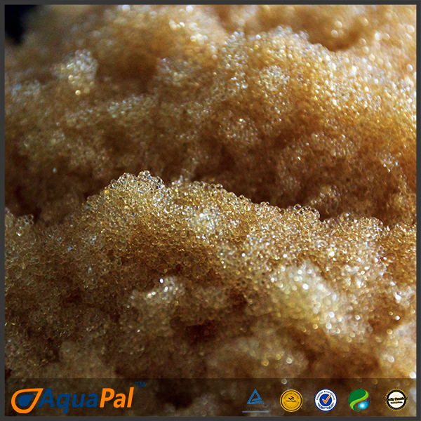 FDA / LFGB hard water cation exchange resin for water softener