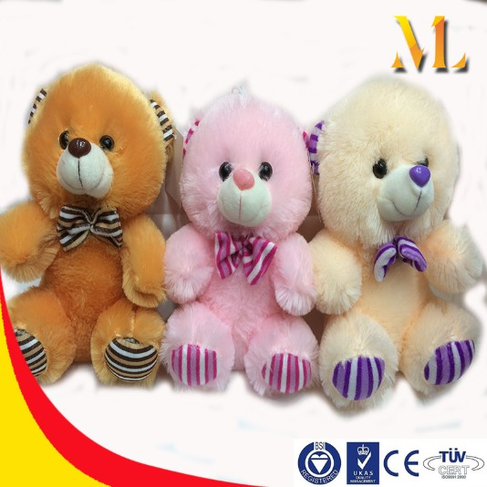 Plush toy bear pink rabbit lovely dog children gift