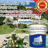 Low VOC Waterproof concrete exterior house paint colors