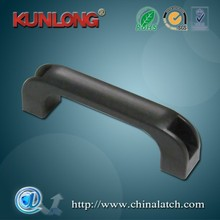China Factory Custom Flexible Black Abs Plastic Handle