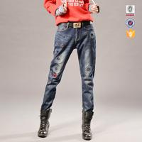 wholesale 100 cotton rock revival jeans for women