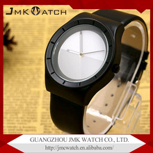 high density Economic and Reliable big strap genuine leather quartz watch