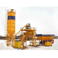 Compact ready mixed concrete batching plant for sale