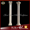 Hand carved beautiful decorative roman columns