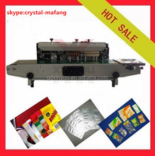 FR-900 Heating type plastic film sealing machine/Digital Counter Plastic Film Sealing Machine,continuous band sealer