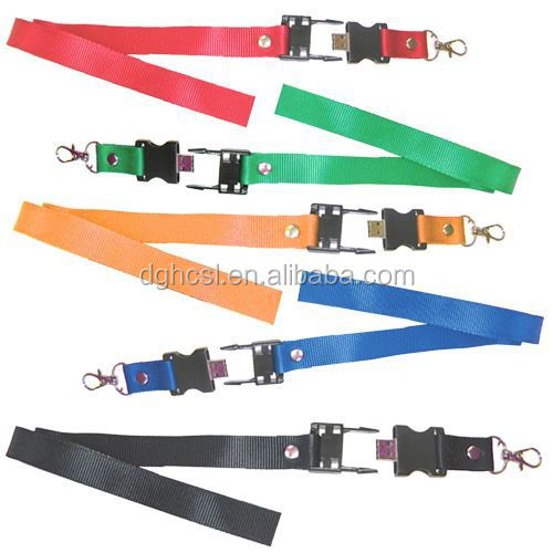 lanyard usb flash drives with custom printing