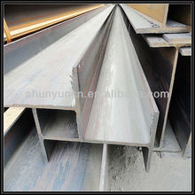 Metal Structural H Shape Beam ,curved roof design structural steel shed,hot rolled i /h beam with grade JIS SS400 SS490