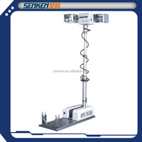special vehicle mounted night scan tower light and telescopic Lighting system and high mast light